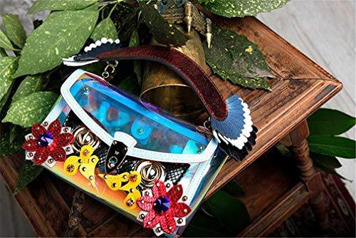 Borsa jaycel A Maschera Ginny Mucca Catena sided In Originale Messenger Borsetta Double Maska10 Moda Design Borsa Donna maska4 Bag Pelle Sostituibile Tracolla Piccola Accessori Mano Carino Edpwtqw
