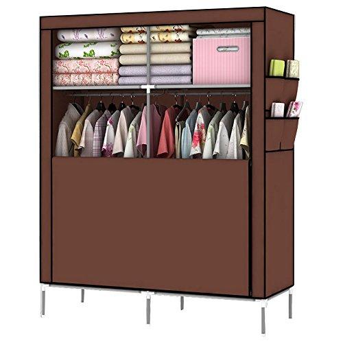 mow-wow-christmas-gift-diy-assambled-portable-clothes-closet-wardrobe-fabric-clothes-storage-organiz