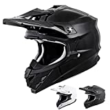 Scorpion VX-35 Solid Off-Road Motorcycle Helmet (Black, X-Large)