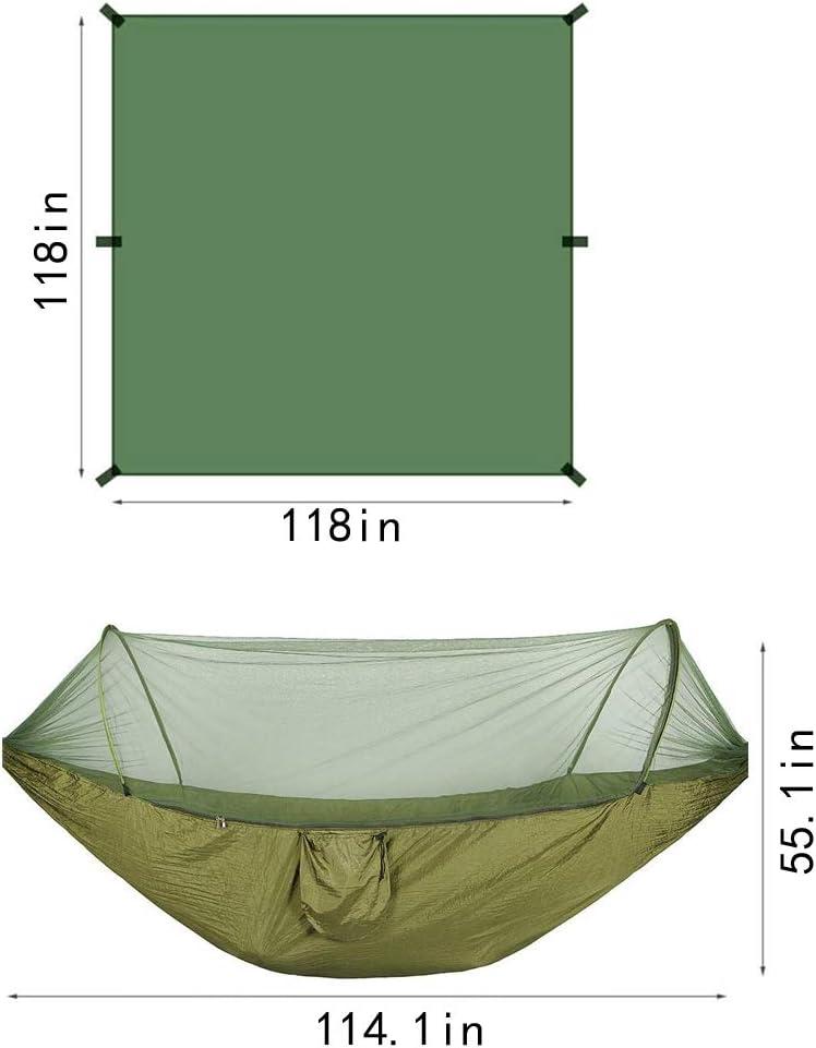 KCX Camping Hammock Waterproof Sunshade Camping with Mosquito net Hammock Mosquito net Hammock Tent Cloth Set