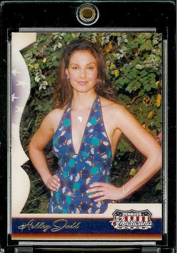 2007 Donruss Americana Hobby (Foil) # 100 Ashley Judd - Entertainment Trading - Americana Donruss 2007 Card