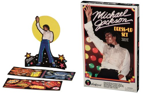 Colorforms Michael Jackson Dress-Up Set -