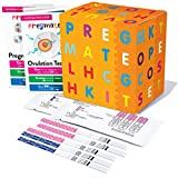 PREGMATE 20 Ovulation (LH) and 5 Pregnancy (HCG) Test Strips Predictor Kit (20 LH + 5 HCG)