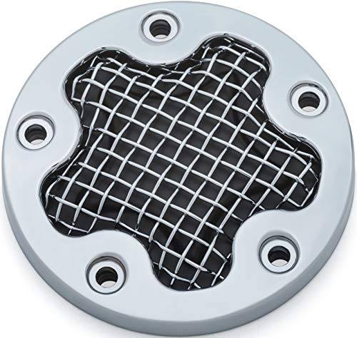 - Kuryakyn 6520 Mesh Timing Cover for Twin Cam, Chrome