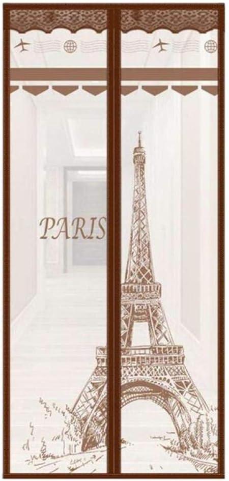 FWML Mosquitera magnética Pantalla París Torre de la Puerta ...