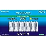 Panasonic BK-4MCCA12SA  - Baterías recargables, Eneloop AAA 2100 Cycle Ni-MH