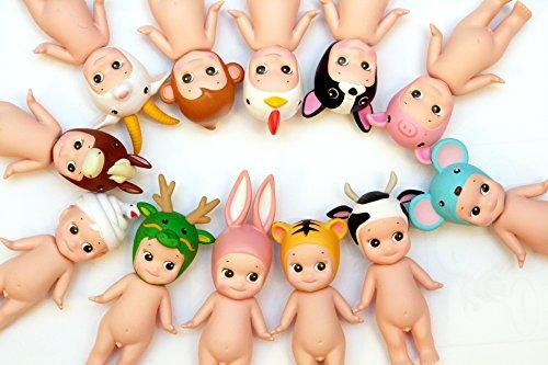 Sonny Angel Original Mini Figure - Animal Series Version 1 / Complete set of 12