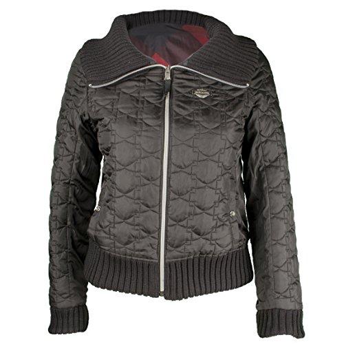 Women's Reversible Winsome Bomber Jacket 97564-16VW (Harley Davidson Nylon Jacket)