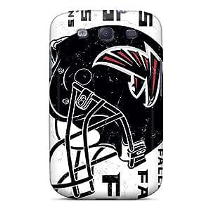 Samsung Galaxy S3 XDh12071oGkN Custom HD Atlanta Falcons Skin Perfect Hard Phone Case -AnnaDubois
