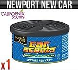 California Scents Newport New Car/Home Air Freshener