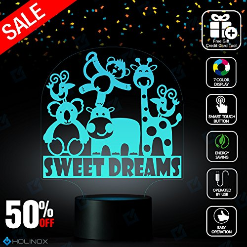 Sweet Dream Nighlight Lamp, kids nighlight, Best Christmas Gift, Decoration lamp, 7 Color Mode, Awesome gifts - Https Macys Www