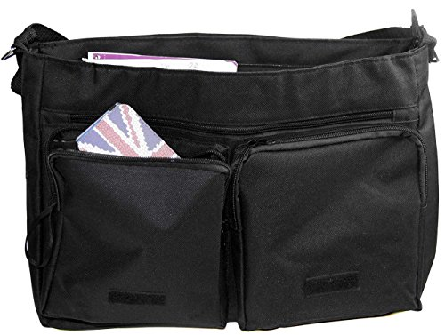 Amazon.com: Rikki Knight Rainbow Unicorn Design Messenger Bag ...
