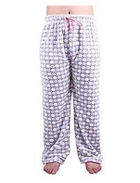 Zerdocean Women's Plus Size Flannel Fleece Sleep Pants Pajamas