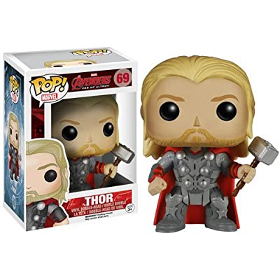 Funko Marvel: Avengers 2 - Thor Bobble Head Action Figure: Funko Pop! Marvel:: Toys & Games [5Bkhe0305913]