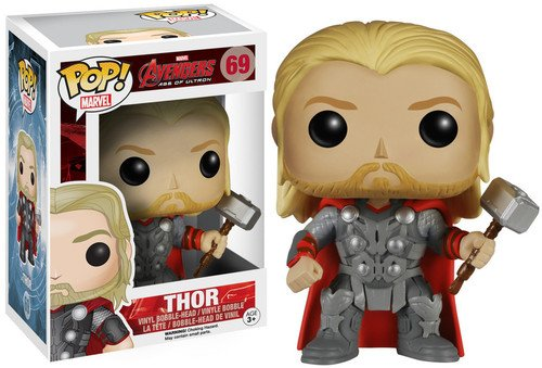 Funko Vengadores Bobble Marvel Avengers AOU Thor (4780)
