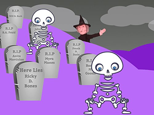 Halloween Songs For Nursery Rhymes (Halloween Head, Shoulder, Knees &)