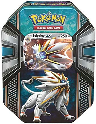 Pokemon Caja Metalica solgaleo gx (en Ingles) : Amazon.es ...