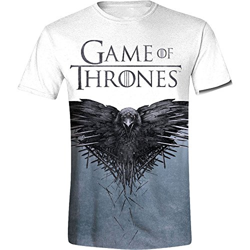 Amazon.com: Game of Thrones T-Shirt Sublimation Size S shirts: Sports & Outdoors