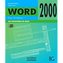 Word 2000 pour windows de base