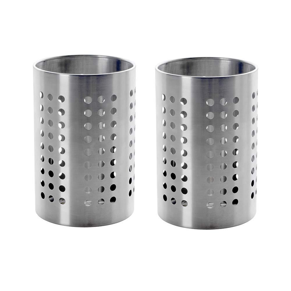 2 Pack Ikea Caddy Utensils Storage Stainless Steel 7