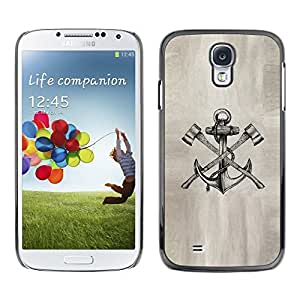 Plastic Shell Protective Case Cover || Samsung Galaxy S4 I9500 || Paper Sketch Pencil Ink Tattoo @XPTECH