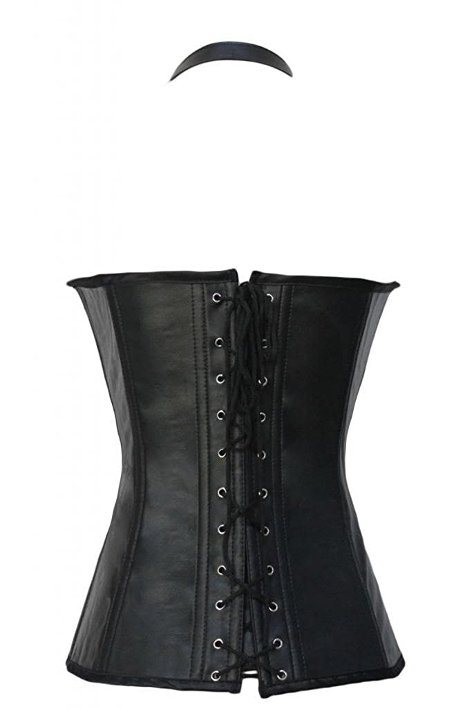 8a17ae05b11 Dear-lover Women s Buckle-up Steampunk Corset  Amazon.co.uk  Clothing
