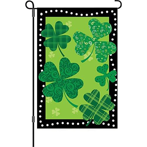 (Premier 51981 Garden Brilliance Flag, Shamrock Summit, 12 by 18-Inch)