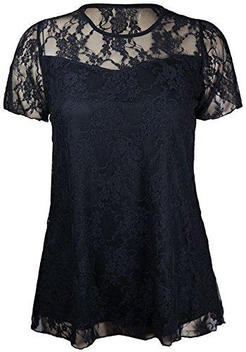 forever 21 black floral dress - 1