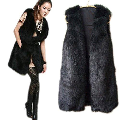 Long Fur Vest - 6