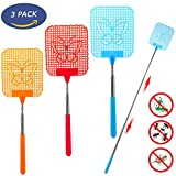 Fly Swatter Extendable, [Portable to Be Your...