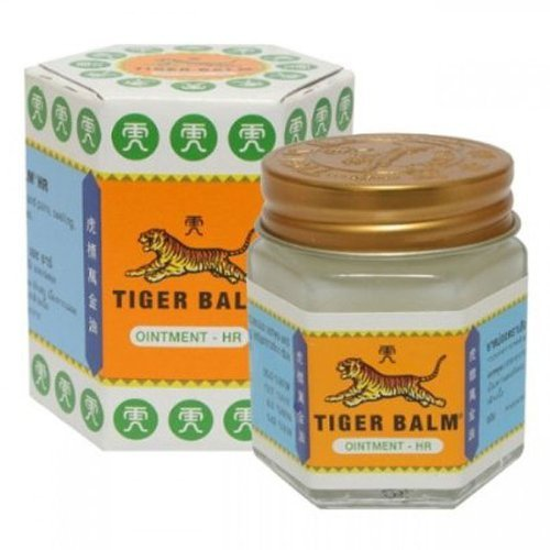 2 x White Tiger Balm Herbal Ointment 30g Relief Muscular Pain (Dragon Cream Shirt)
