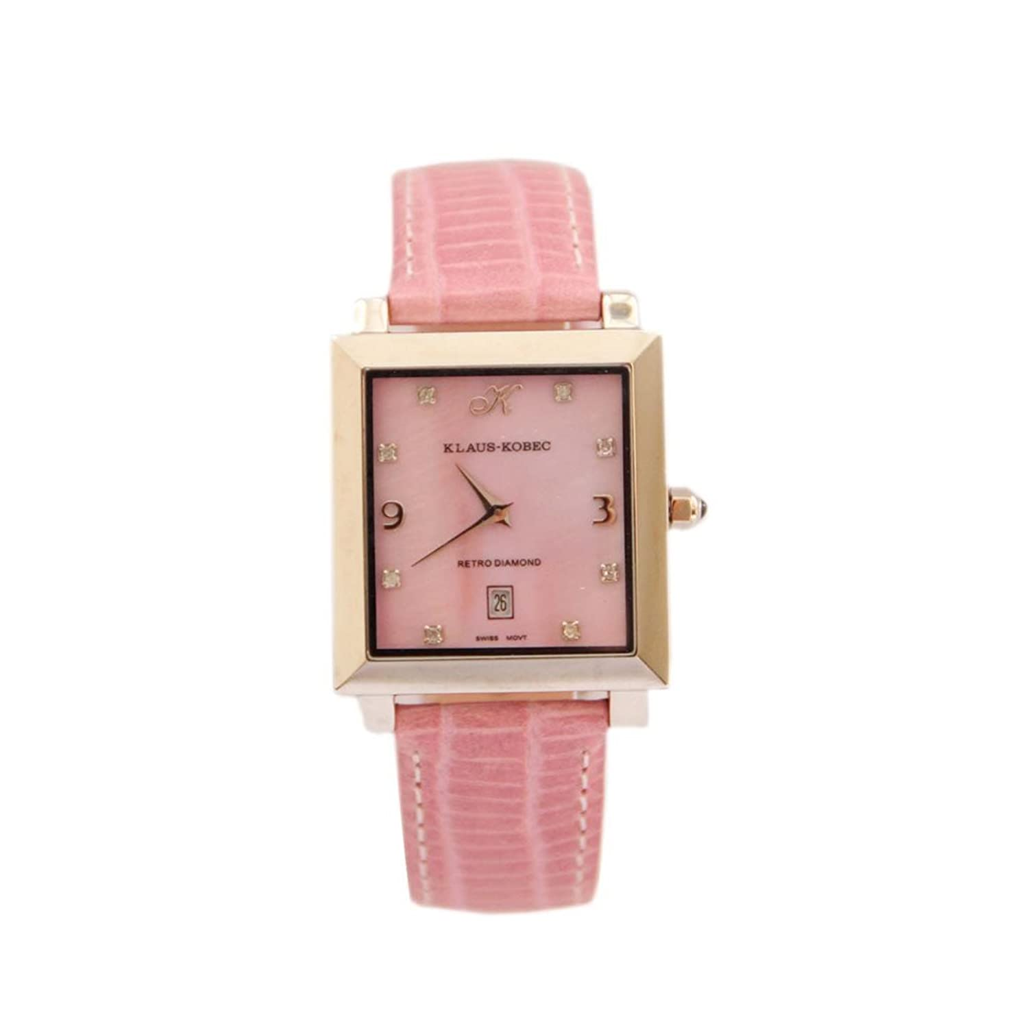 Waooh - Ansehen Mit Square Dial Hyve - ROSA
