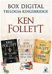 Box Trilogia Kingsbridge: Os pilares da Terra • Mundo sem fim • Coluna de fogo