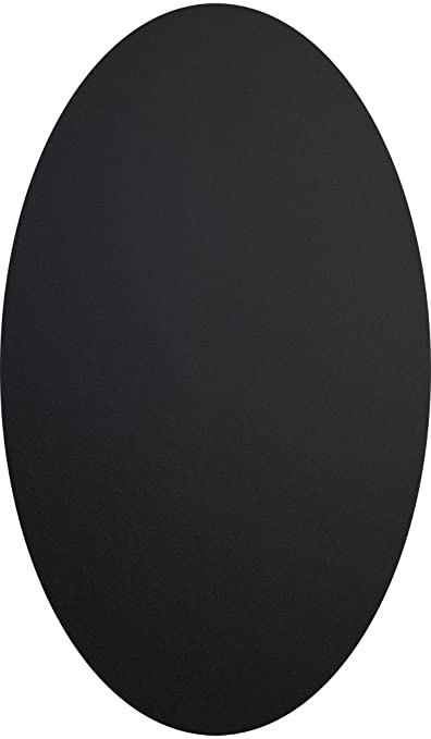Amazon.com: Securit CS-OVAL-8-8 Oval Chalkboard Sticker, 8.5 ...