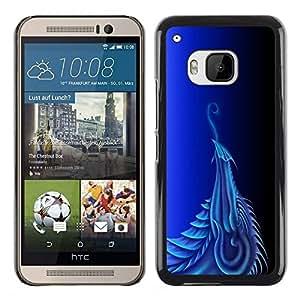 Be Good Phone Accessory // Dura Cáscara cubierta Protectora Caso Carcasa Funda de Protección para HTC One M9 // Dragon Eagle Bird Mythology Fairytale Art