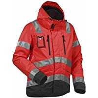 Blakl?der 483719775599XL Size X-Large Cl.3 High Vis Jacket - Red/Black by Blakl?der