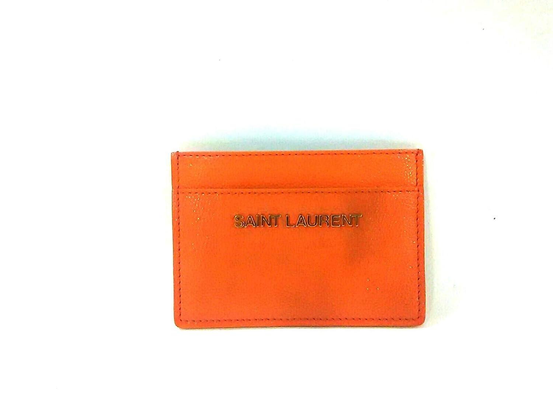 (サンローランパリ)SAINT LAURENT PARIS カードケース オレンジ 340837 【中古】   B07NNPB13R