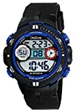 Digital Watch Boys Sports 50M Waterproof Military Black for Teenager Boy's Watch for Age 12+
