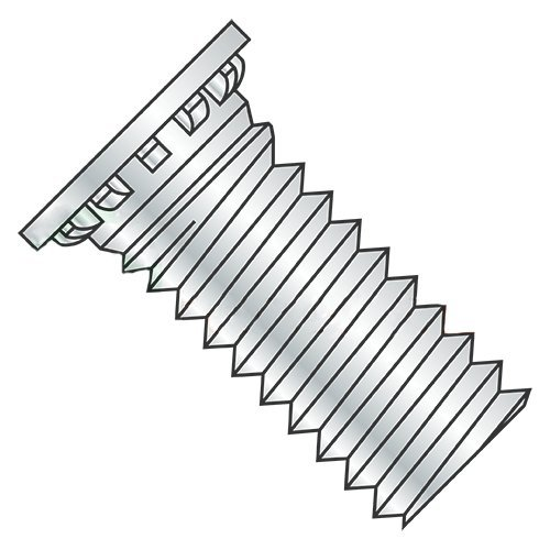5/16-18 x 1 1/2'' Self Clinching Studs/Steel/Zinc (Carton: 500 pcs) by Newport Fasteners