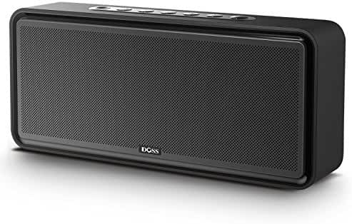 DOSS SoundBox XL Bluetooth Home Speakers, Wireless 2.1 Speaker System with 20W Driver, 12W Subwoofer, HD Sound, Bold Bass, Long Playing Time for iPhone, Samsung, iPad, Tablet, Echo Dot - Black