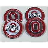 The Ohio State University Buckeyes Golf Ball Markers (4)