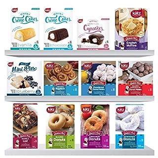 Katz Gluten Free Best Seller Multi Pack | Dairy, Nut and Gluten Free | Kosher 6.69 Pounds, (Pack Of 12)