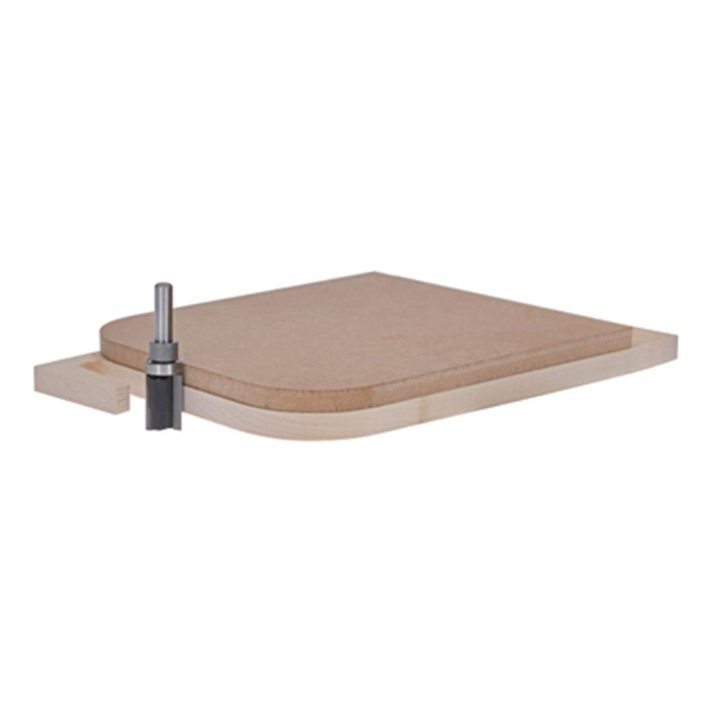 Set di frese Bosch Professional 2607017471 15tlg per legno, per frese verticali con stelo da 6 mm