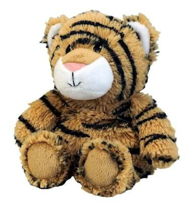 TIGER JUNIOR WARMEIS Cozy Plush Heatable Lavender Scented Stuffed - Tiger Juniors