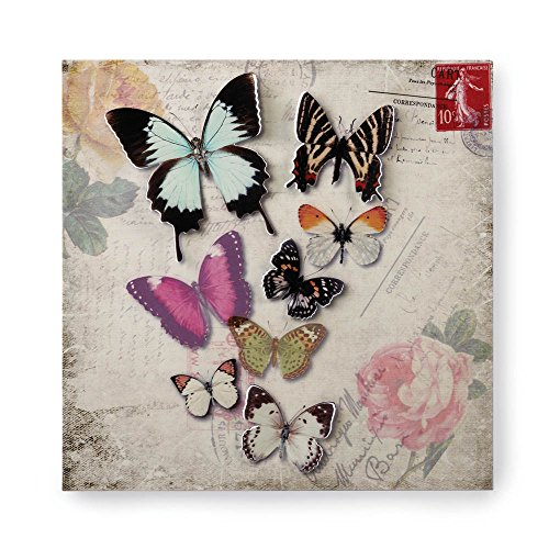 Butterfly Wings Postcard - VERDUGO GIFT Butterfly Postcard 3-D Wall Art