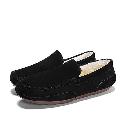 Shufang-shoes, Zapatos Mocasines para Hombre 2018 Mocasines Bajos de Estilo británico para Hombre