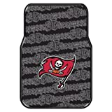The Northwest Company Officially Licensed NFL Tampa Bay Buccaneers Two-Pack Front Car Floor Mat