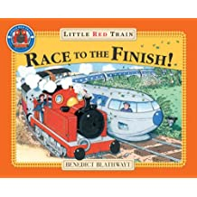 Little Red Train Race to the Finish!