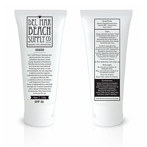 Natural Sunscreen | Safe for Children of All Ages  Simply Eight Edible-Grade Organic Ingredients | Fragrance-Free | Non-Toxic | Biodegradable | Easy to Apply & Spread | Made in the USA