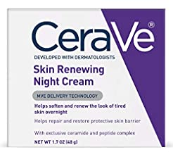 CeraVe Night Cream for Face | 1.7 Ounce ...